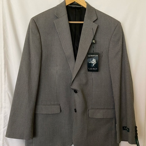 NWT Men's Ralph Lauren Ultra Flex Blazer 42 R